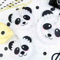 Мастер-класс. Украшения для панда вечеринки