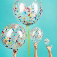 Мастер-класс по наполнению воздушных шаров конфетти