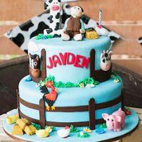 День рождения в стиле ферма
