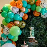 Детский день рождения в стиле животных сафари