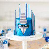 Оформление дня рождения в стиле Трансформеры