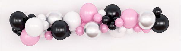 Инсталляции гирлянды из воздушных шаров