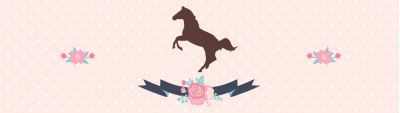 Винтажная лошадка