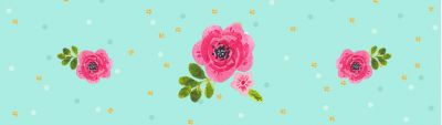 Цветочный мятный