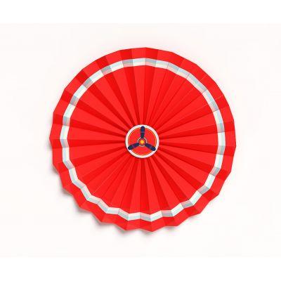 """Веерный круг """"Самолеты. Красный"""""""