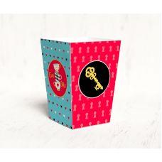 "Коробочка для попкорна ""Алиса в стране Чудес"" ключик"