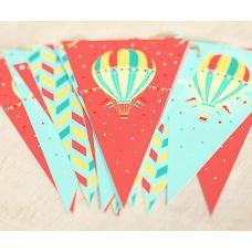 """Гирлянда """"Воздушный шар"""" высота"""