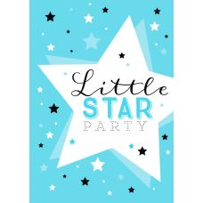 "Плакат A2 ""Звезды"" Little star party"
