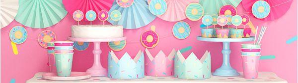 День рождения в стиле пончики