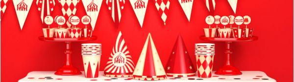 День рождения в стиле Цирк