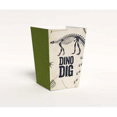 """Коробочка для попкорна """"Динозавры"""" Меловой период"""