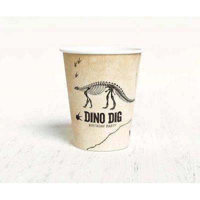"""Стаканчик """"Динозавры"""", раскопки"""