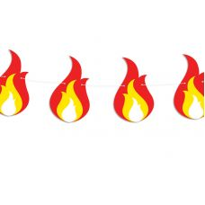 Гирлянда фигурная в форме пламени