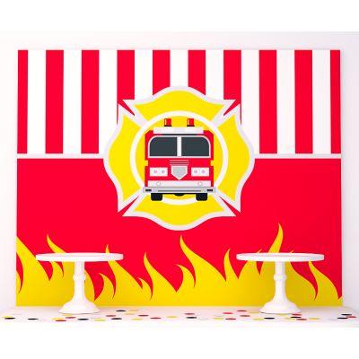"""Плакат 120х100 см """"Пожарная служба"""""""