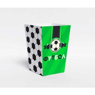 """Коробочка для попкорна """"Футбол"""""""