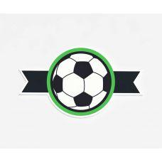 """Декоративный элемент для оформления фотозоны """"Футбол"""""""