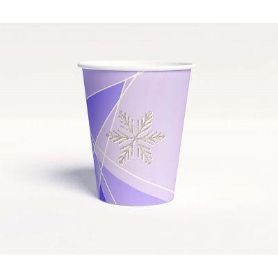 """Стаканчик """"Зимняя сказка"""" фиолетовый"""