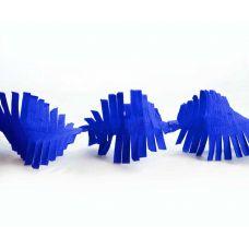 Гирлянда бахрома синяя