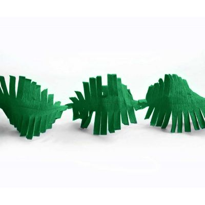 Гирлянда бахрома зеленая