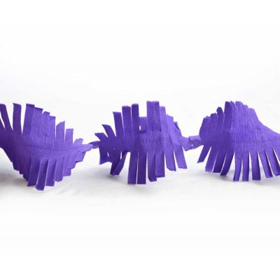 Гирлянда бахрома фиолетовая