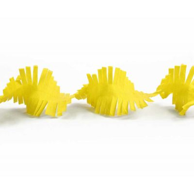 Гирлянда бахрома желтая