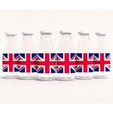 """Этикетки на бутылочки для детского сока """"Великобритания"""""""