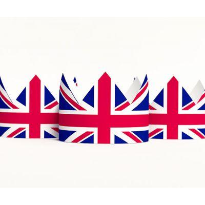 "Набор тематических корон ""Великобритания"""