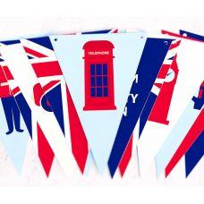 """Гирлянда """"Великобритания"""""""