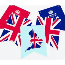 """Гирлянда прямоугольная """"Великобритания"""" Соединенное Королевство"""