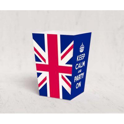 Коробочка для попкорна «Великобритания»