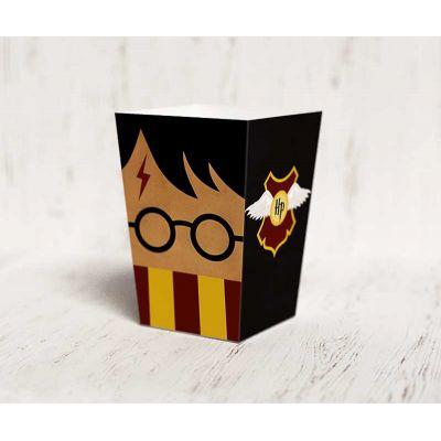"""Коробочка для попкорна """"Гарри Поттер"""" золотой снитч, черная"""
