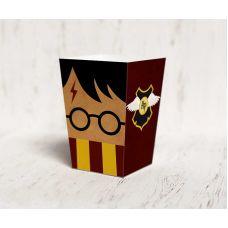 """Коробочка для попкорна """"Гарри Поттер"""" золотой снитч, бордовая"""