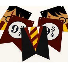 """Гирлянда прямоугольная """"Гарри Поттер"""" платформа 9 3/4"""