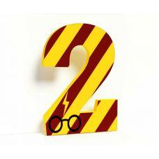 "Объемная цифра ""Гарри Поттер"""
