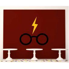 """Плакат 120х100 см """"Гарри Поттер"""" очки Гарри"""