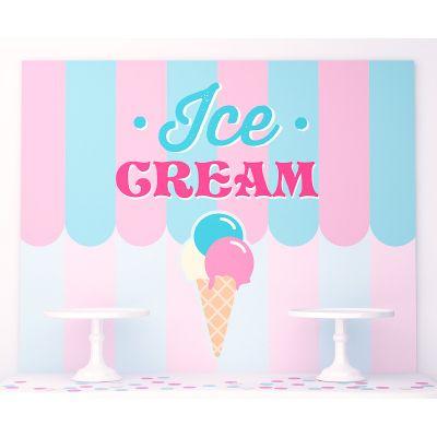 "Плакат 120х100 см ""Ванильное мороженое"""