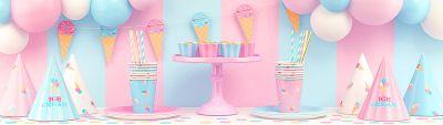 День рождения в стиле мороженое