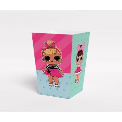 "Коробочка для попкорна ""Куклы LOL"""