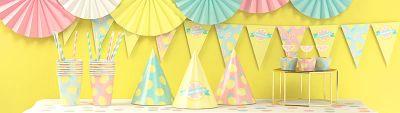 День рождения в лимонадном стиле