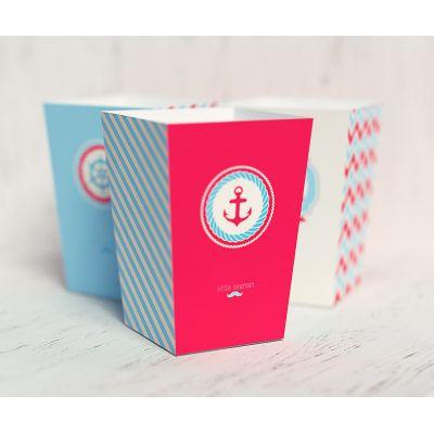 """Коробочка для попкорна """"Морячок"""""""