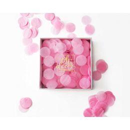 "Конфетти ""Нежно розовое"". Коробка"
