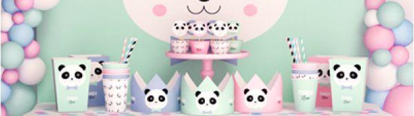 День рождения в стиле панды