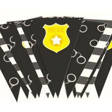 "Гирлянда ""Полиция"" наручники, значок"