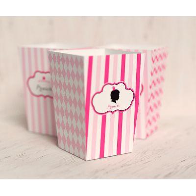 """Коробочка для попкорна """"Маленькая принцесса"""""""