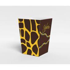 "Коробочка для попкорна ""Сафари"" жираф"