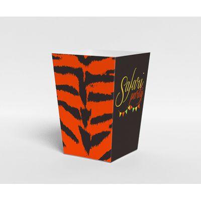 """Коробочка для праздника """"Сафари"""" тигр"""