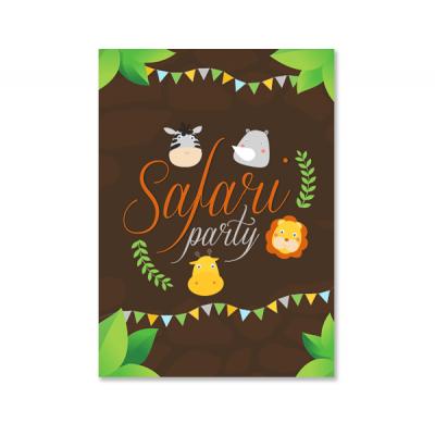 """Плакат """"Сафари"""""""
