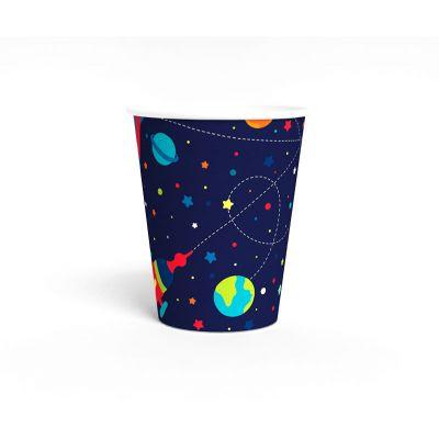 """Стаканчик """"Космос"""" темно-синий, ракета"""