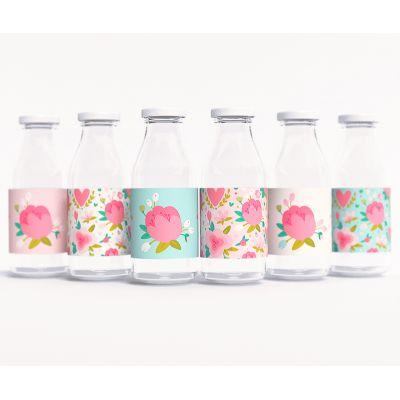"""Этикетки на бутылочки для детского сока """"Весенний сад"""""""