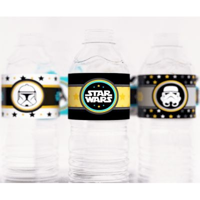 """Этикетки для бутылочек """"Звездные войны"""""""